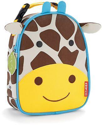 Bello Skip Hop Zoo Lunchie Borsa Da Pranzo Isolata-giraffa Bambini Pranzo Borse Bn-
