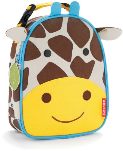 Skip Hop Zoo lunchie Sac-repas isotherme-Girafe Kids Lunch Bags BN