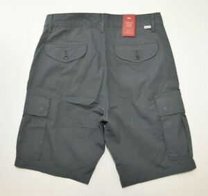 8628b2f8 Image is loading GRAY-Levis-Men-039-s-CARRIER-CARGO-SHORTS-