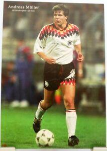 Andreas Möller Fußball Nationalspieler DFB Fan Big Card Edition B209