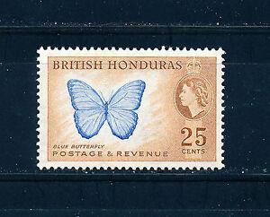 BRITISH-HONDURAS-1953-DEFINITIVES-SG186-25c-BLOCK-OF-4-MNH