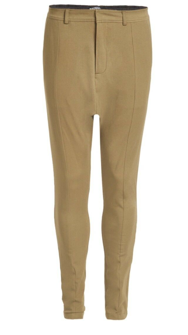 Balmain Paris Harem Herren Baumwoll Hose Pants Khaki    Neu Gr50 Designer NP   eine große Vielfalt  fe59ff
