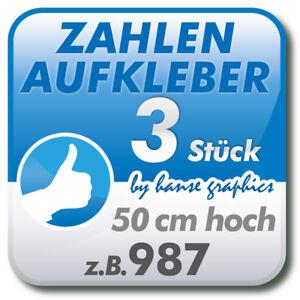3-Zahlenaufkleber-je-50-cm-hoch-Klebezahlen-fuer-Ladetor-Garagentor-Deko-Zahl