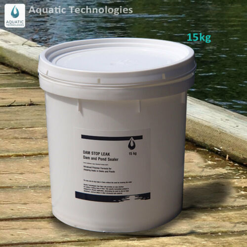 DAM STOP LEAK SEALER FOR PONDS & DAMS 15kg