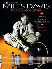 Miles Davis for Solo Guitar (2006, CD / Paperback)