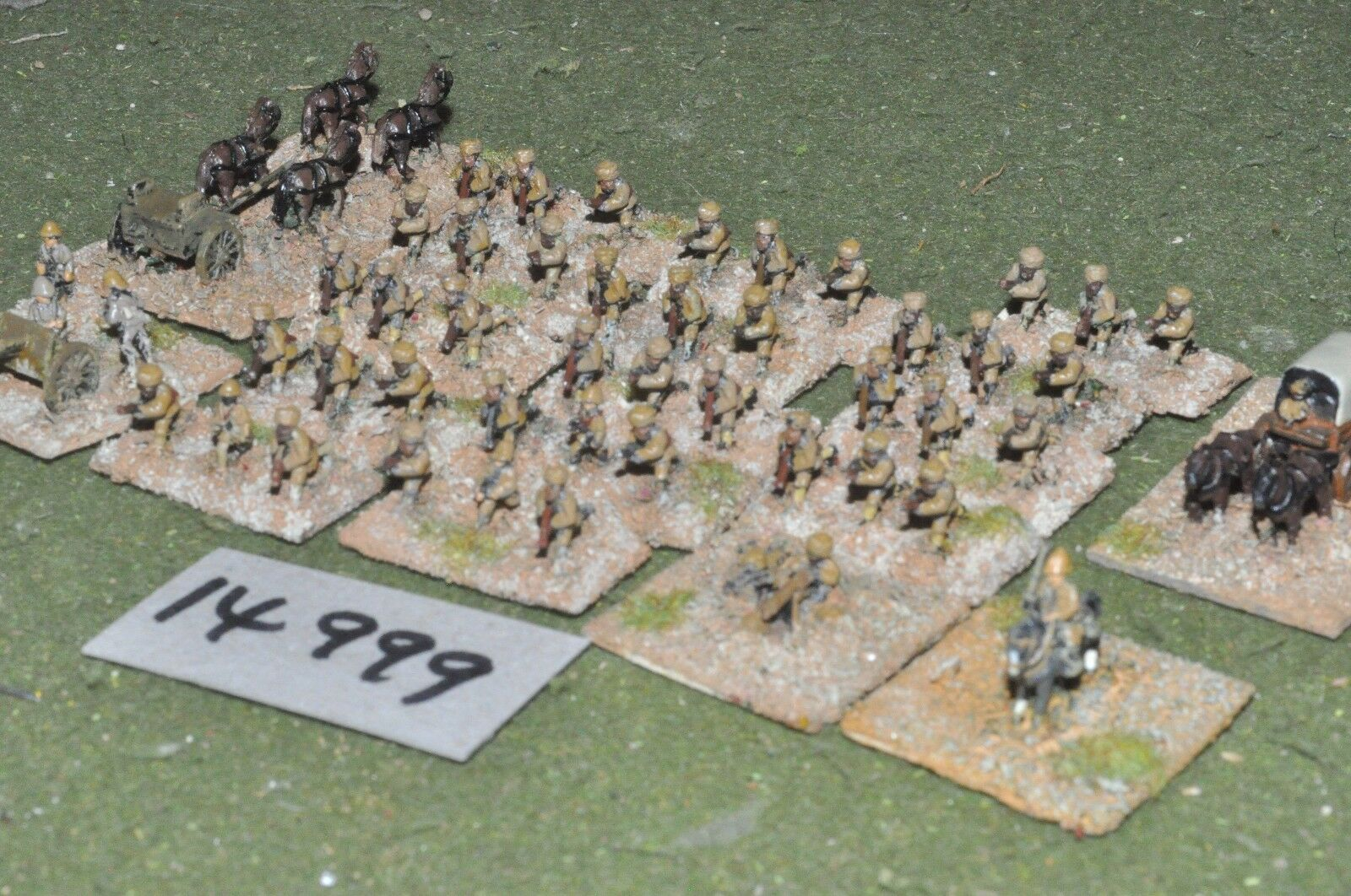 10mm WW1   british - middle east indian brigade - inf (14999)