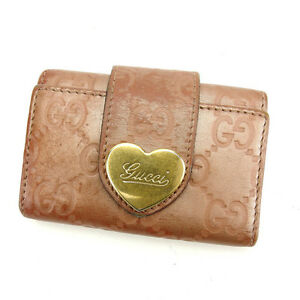 924fb61368d0 Gucci Key holder Key case Guccissima Pink Gold Woman Authentic Used ...