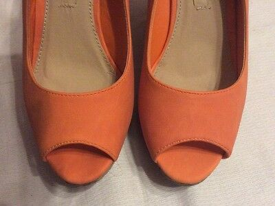 Jumex Pumps, Damenschuhe, Gr. 39 orange