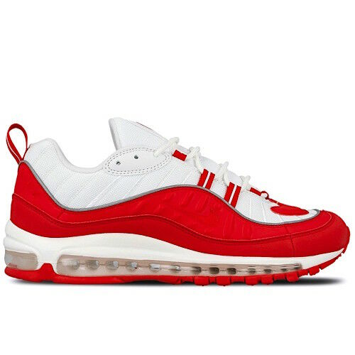 Men's Nike Air Max 98 University Red Athletic Fashion Casual Sneakers 640744 602