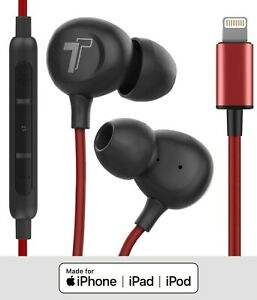Lightning Inear Headphones For Iphone 11 Pro Max Earphone Apple Certified Earbud Ebay
