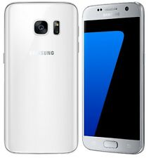 "Samsung S7 G930F 32Gb White Unlocked - 12 Month Warranty - ""Grade A"""