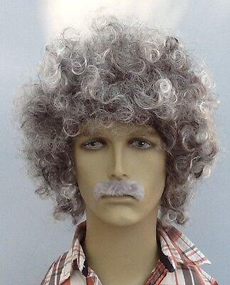 Curly Grey Wig Hair