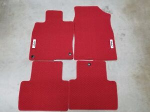 Image Is Loading New Genuine Honda Red Hfp Carpet Mats 2017
