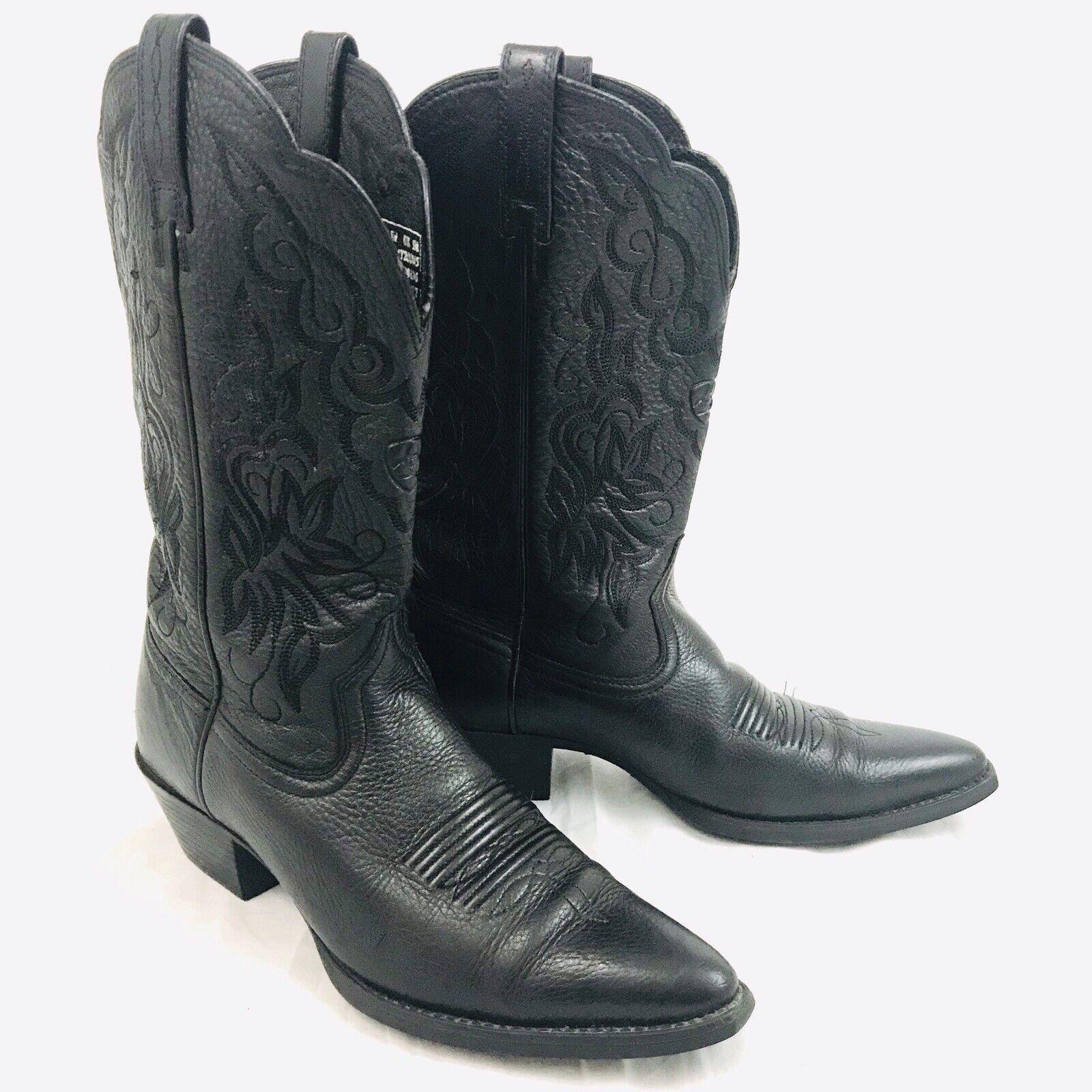 stile classico Ariat Heritage Heritage Heritage donna 15771 nero Leather Western stivali 7.5 B  marchio famoso