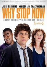 Why Stop Now (DVD, 2012) * NEW *