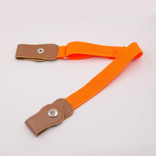 Buckle-free Elastic Waist Belt Waistband Adjustable for Kids No Bulge Comfort