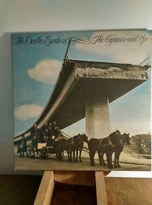 Doobie-Brothers-039-The-Captain-amp-Me-039-12-034-vinyl-album-LP-1973-UK-A1-B1-EX-VG