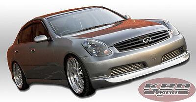 Polyurethane Front Lip ING Style Fits 2005 2006 Infiniti G35 4DR Sedan