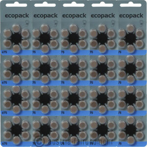 120x-ECO-Pack-VARTA-Hoergeraete-Batterie-V-675-PR44-blau