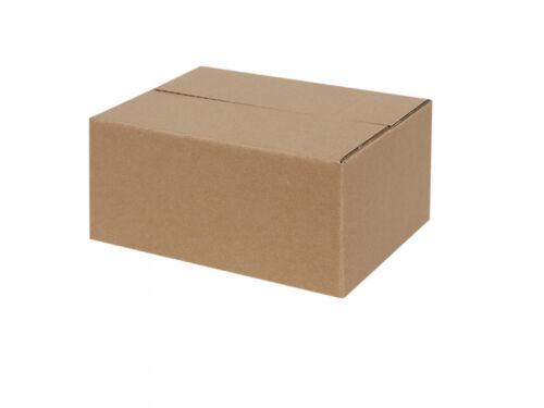 50 Faltkartons 200 x 150 x 90 mm Versandkartons Faltschachteln Falt-Karton
