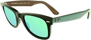 Ray-Ban-Men-039-s-Original-Wayfarer-RB2140-117519-50-Black-Wayfarer-Sunglasses