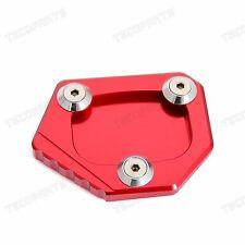 Red CNC Kickstand Side Stand Pad for Honda CBR500R CB500F/X NC700S/X 2013-2015