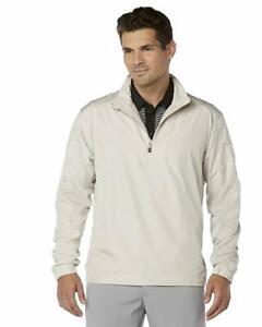 Callaway Mens 1/4 Zip Golf Windshirt Sweatshirt Silver Lining Size XS Brand New