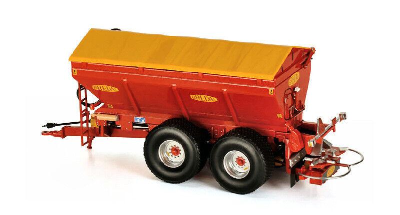 Brougeal K165 Lime and Fertiliser Spreader 1 32 Model ROS60216 ROS