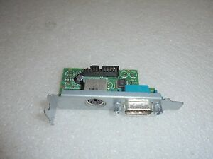 Details about Dell Optiplex 780 SFF Low Profile I/O Panel PS/2 Serial Port  Card Y73TJ