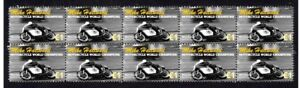 MIKE-HAILWOOD-MOTORCYCLE-W-C-STRIP-OF-10-MINT-VIGNETTE-STAMPS-2