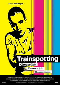 Trainspotting 24 X 36 reproduction movie poster