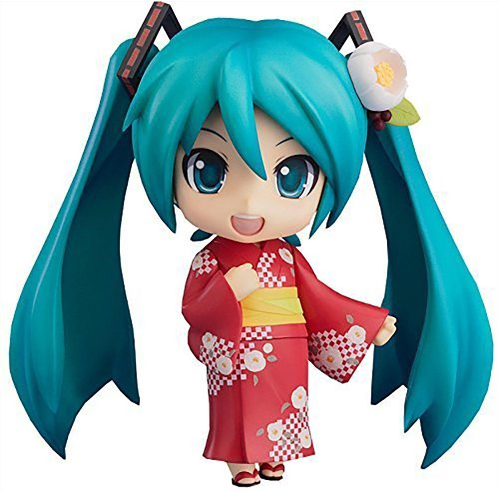 Good Smile Company Hatsune Miku Nendoroid Action Figure Yukata Ver. Natsutsubaki