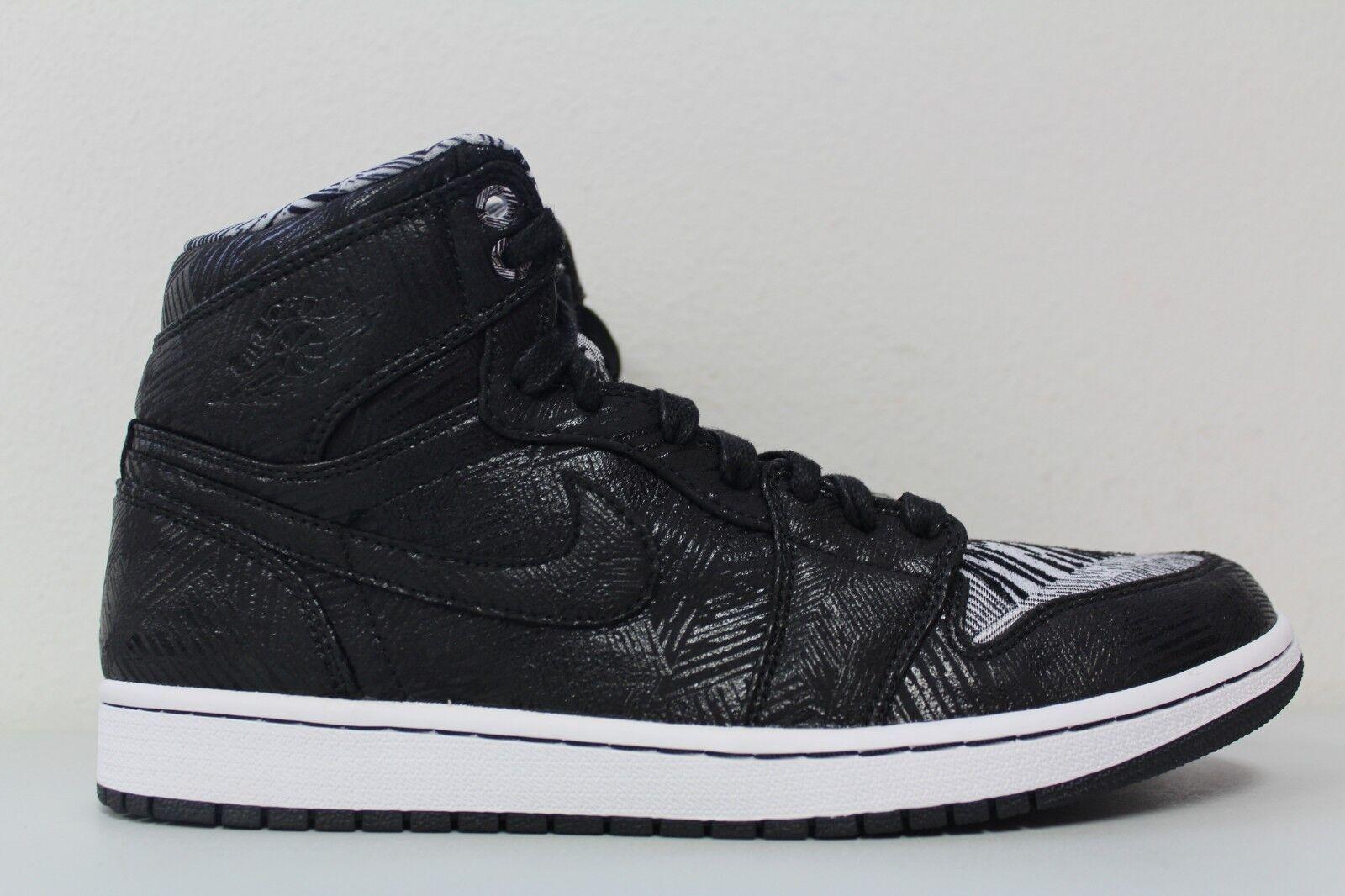 Nike Mens Air Jordan 1 High BHM Size 11 DS Black White 2015 Retro 579591-010