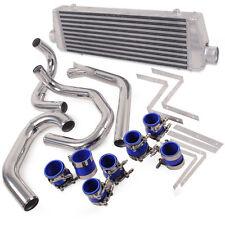 ALLOY FRONT MOUNT INTERCOOLER KIT FMIC FOR VW GOLF MK4 GTI BORA JETTA 1.8T 98-06