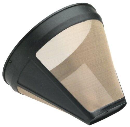 Black KRUPS F0534257 Gold Tone Permanent Filter