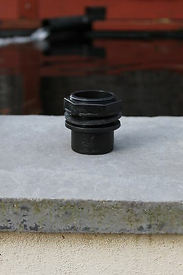 "Kockney Koi Threaded Tank Connector 1.5/2"" - Koi Pond/Garden Ponds - MF Aquatics"