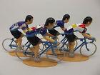 Miguel Indurain figures collection, Banesto, reynolds, pinarello, campagnolo.