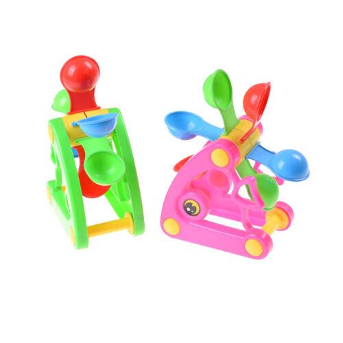 Windmill Waterwheel Play Sand Water Toys Kids Bath Swimming Beach Toy 0F