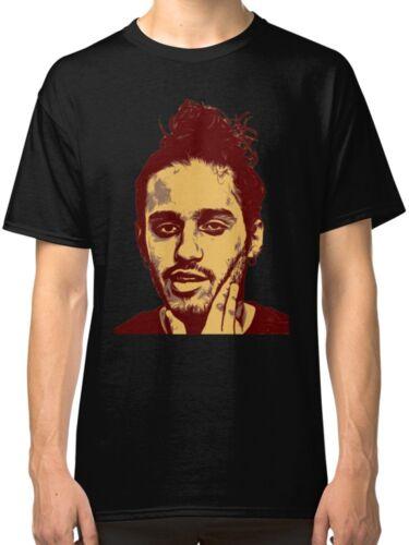 RUSS the Rapper Black Tees T-Shirt Clothing