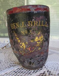 Fire Bucket 19th Century Ben J Brill