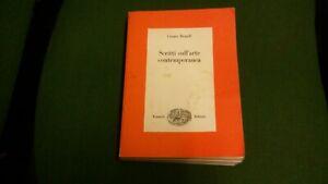 Brandi Cesare: SCRITTI SULL'ARTE CONTEMPORANEA. 1976, 30 mg21