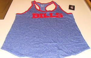 52229b8e Buffalo Bills Ladies Women Core Fan Marled Tank Top Shirt S Football ...