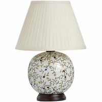 Flower Ball Ceramic Table Lamp - Ideal For Any Room In The Home