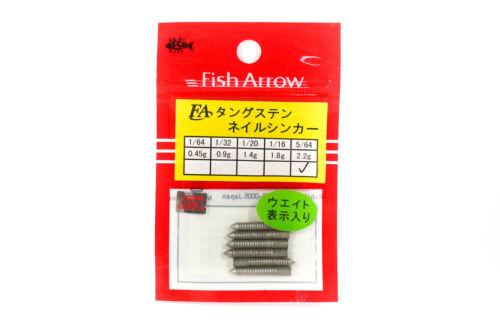 6050 Fish Arrow Nail Sinker 2.2 grams 6 pieces per pack