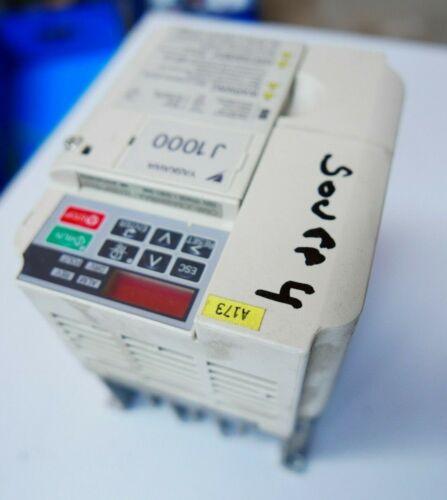 Yaskawa//Omron J1000 CIMR-JCBA0006BBA  Inverter Drive Speed Controler