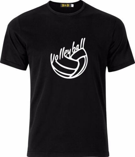 VOLLEYBALL LOVER GIFT FUNNY CHRISTMAS PRESENT COTTON T SHIRT