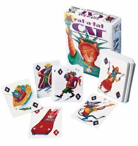 Gamewright Rat-A-Tat Gato Juego