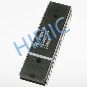 1PCS INS8080AN 8-Bit N-CHANNEL MICROPROCESSOR DIP40