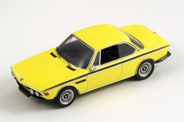 BMW 3.0 CSL (E9) Injection  jaune  1973 (Spark 1 43   S1578)