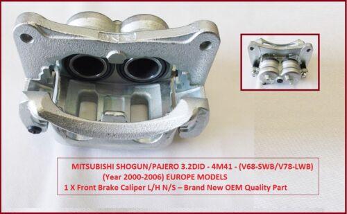 99-06 Nouveau Front Étrier De Frein L//h complet pour Mitsubishi Shogun Pajero 3.2DiD